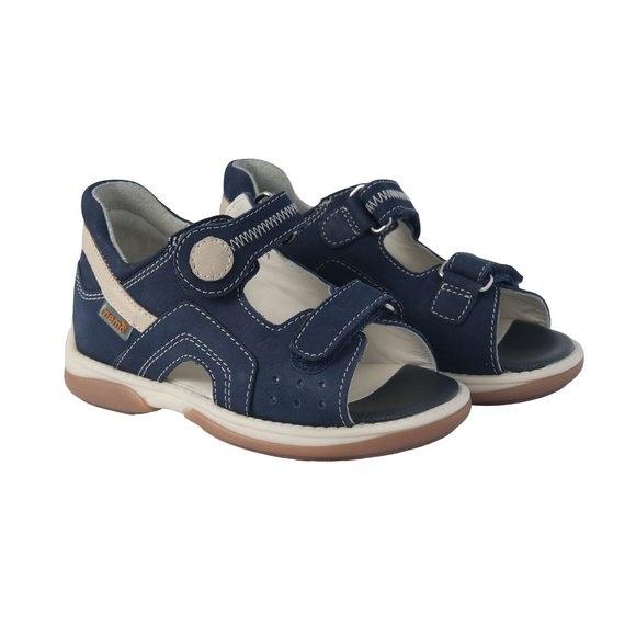 0fce1f7b0 Детская профилактическая обувь MEMO Szafir DRMC 1DA cиний/бежевый - купить  в СПб у официального дилера по спеццене