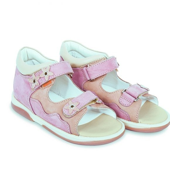 e968da056 Детская профилактическая обувь MEMO Temida DRMC 1JB бежево-розовый - купить  в СПб у официального дилера по спеццене