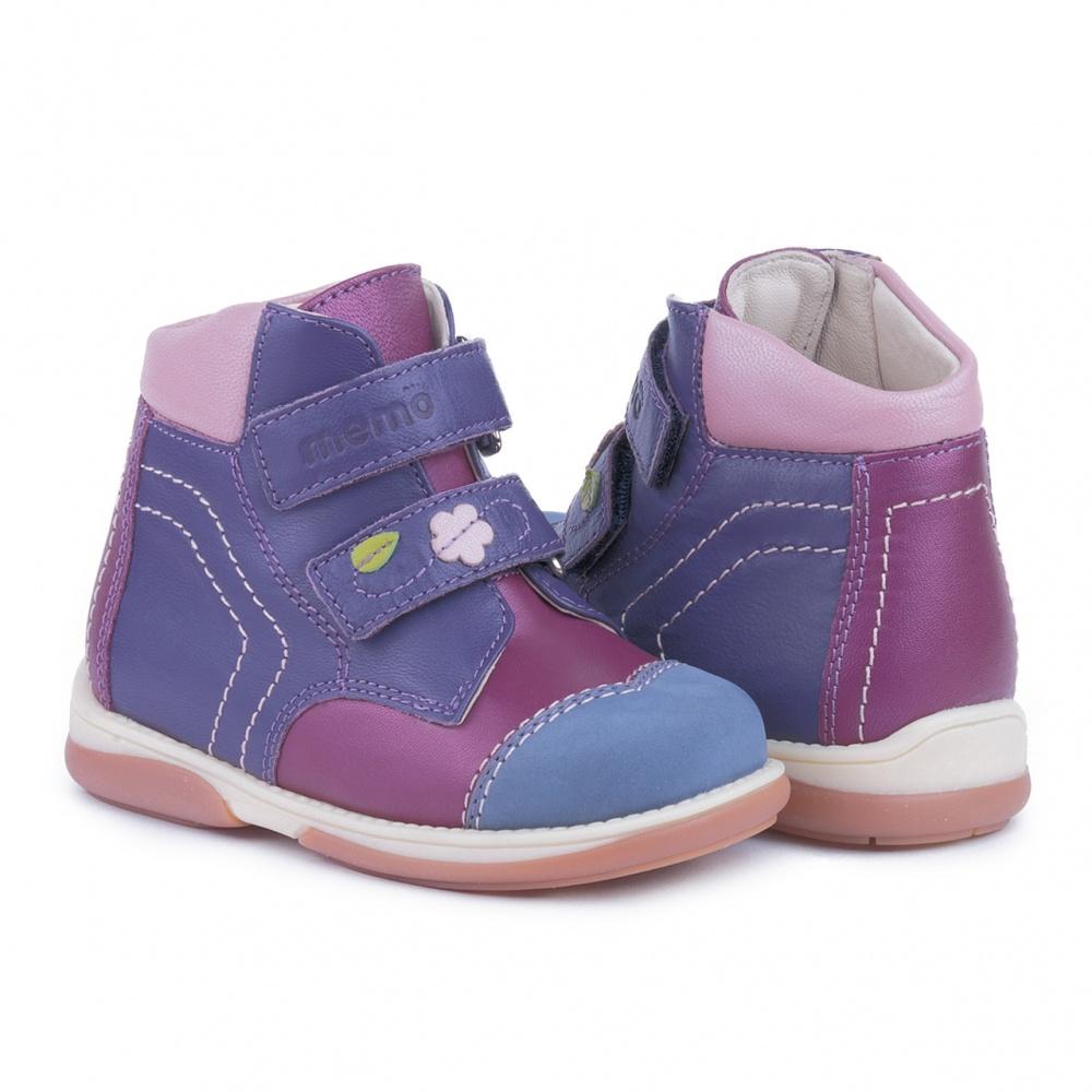 4fc1bb22a Детская ортопедическая обувь MEMO KARAT розово-фиолетовый - купить в ...