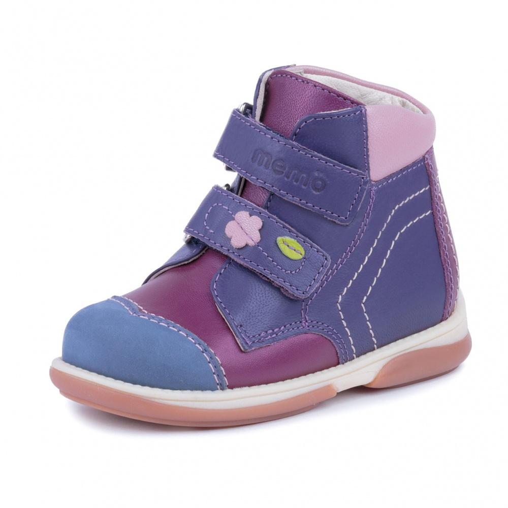 edbd7a3a6 Детская ортопедическая обувь MEMO KARAT розово-фиолетовый - купить в ...