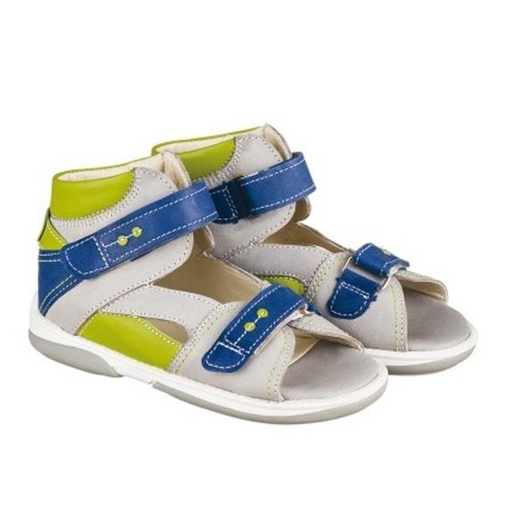 7e7893763 Детская профилактическая обувь MEMO Monaco (серый) - купить в СПб у официального  дилера по спеццене