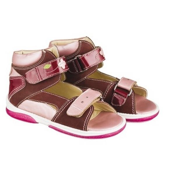 78df87bfd Детская профилактическая обувь Memo Monaco (бордовый) - купить в СПб у официального  дилера по спеццене