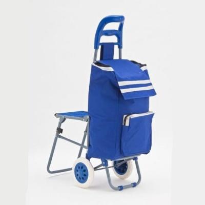 сумка тележка со стульчиком Посетители