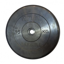 Диск MB Barbell Atlet 15 кг 26 мм