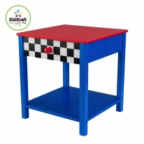 Мебель KidKraft Race Car Side Table Гоночная машина