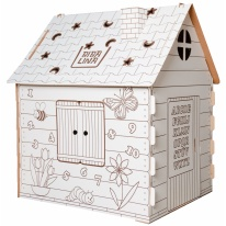 Игровой домик Bibalina Colouring play-house